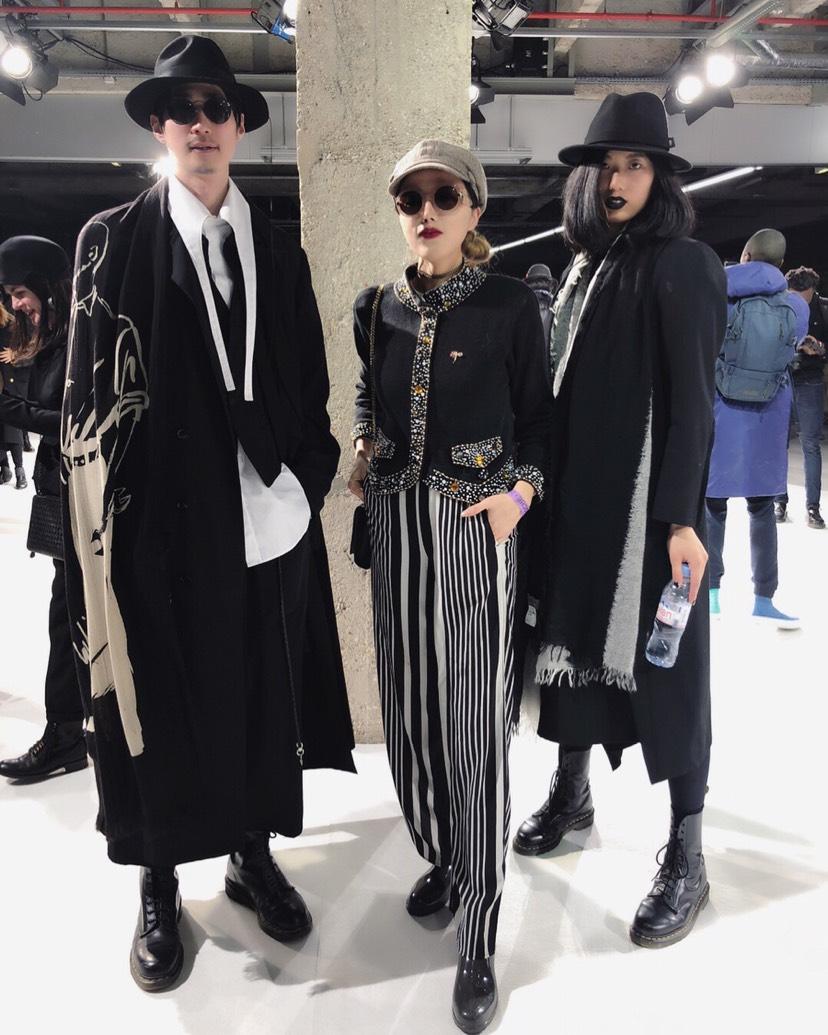 山本耀司 Yohji Yamamoto时装秀
