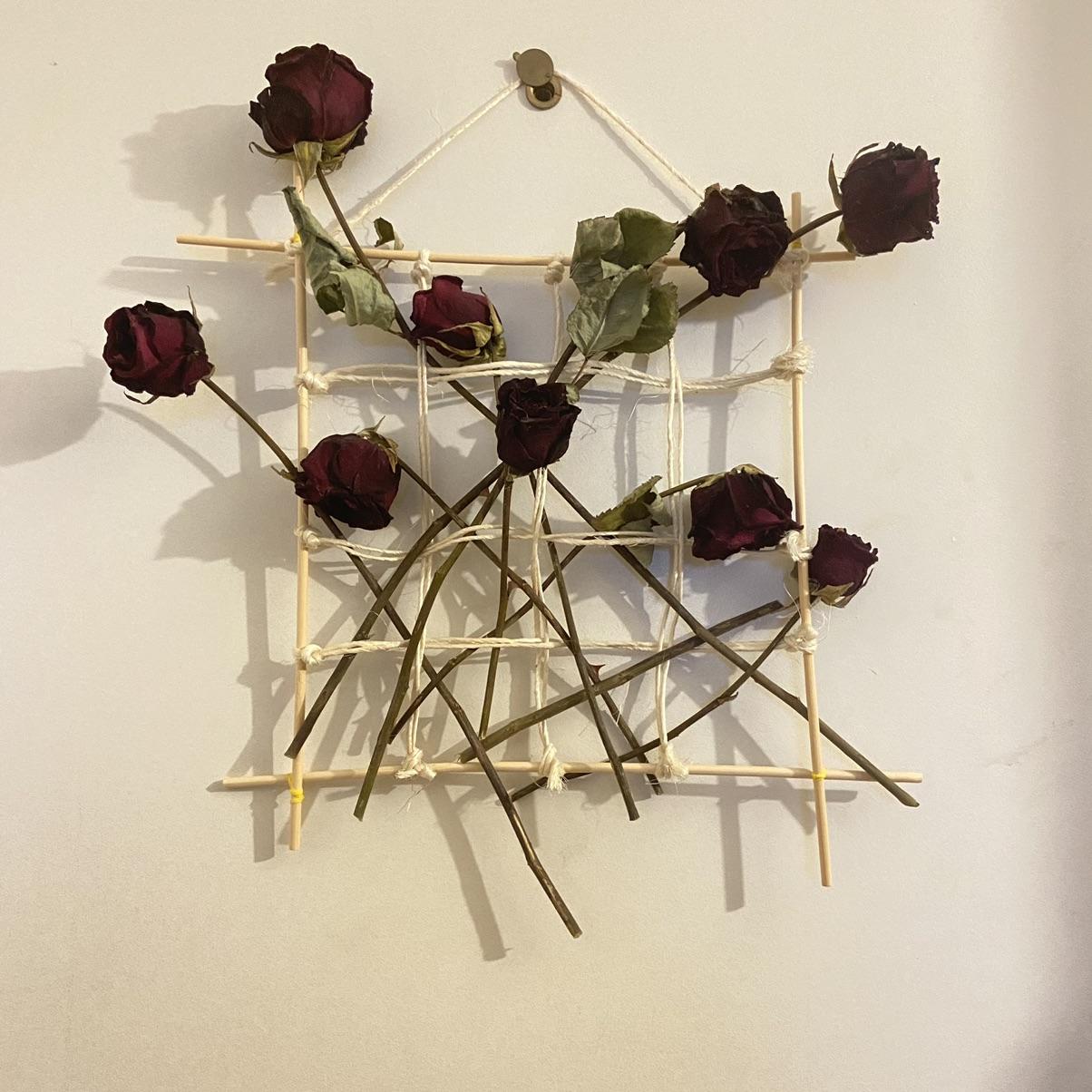 麻绳干花DIY | 0元做个干花挂画