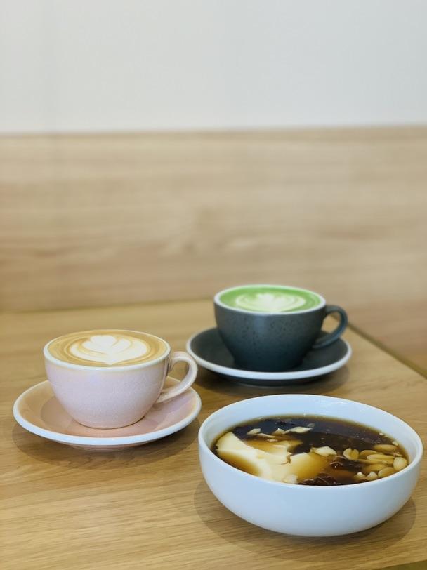 巴黎美食 台湾抹茶豆浆
