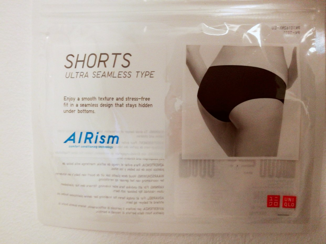 避雷产品~AIRism内裤