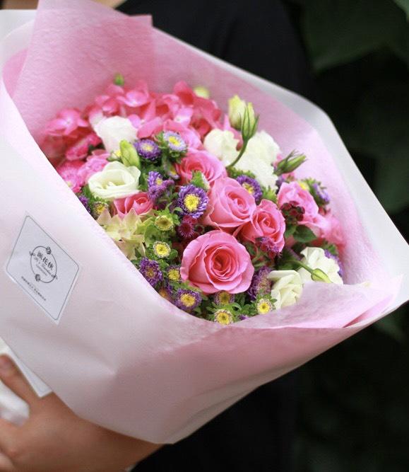 母亲节一直送花~