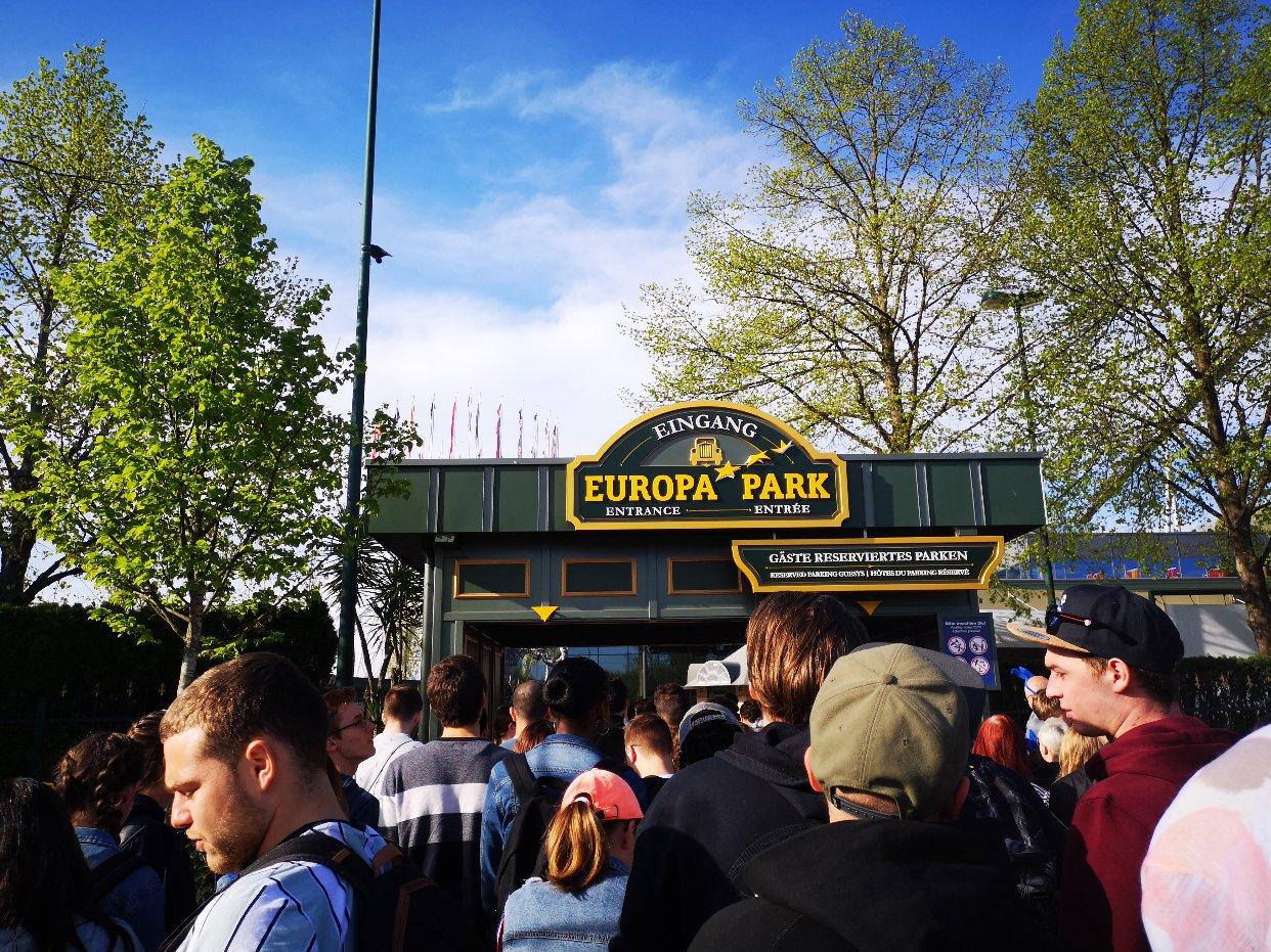 终于去了心心念念的欧洲公园