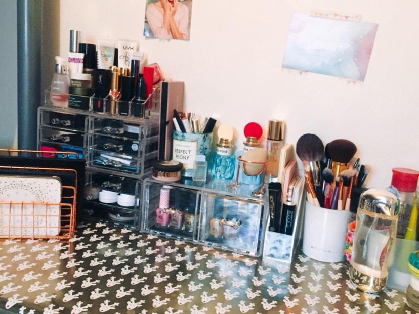 化妆品收纳🤩