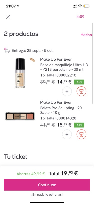 Make Up For ever值得一冲
