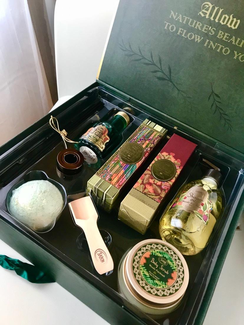 Sabon圣诞礼盒🎄