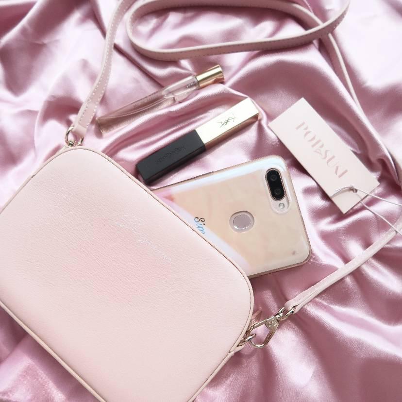 Pop&Suki超级少女心的相机包