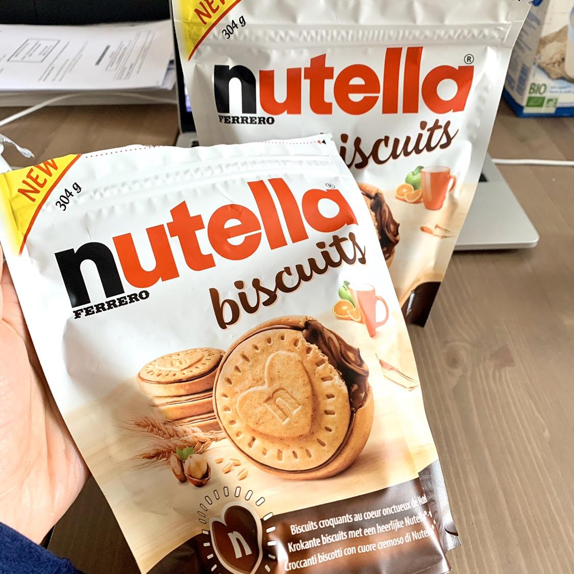 Nutella饼干