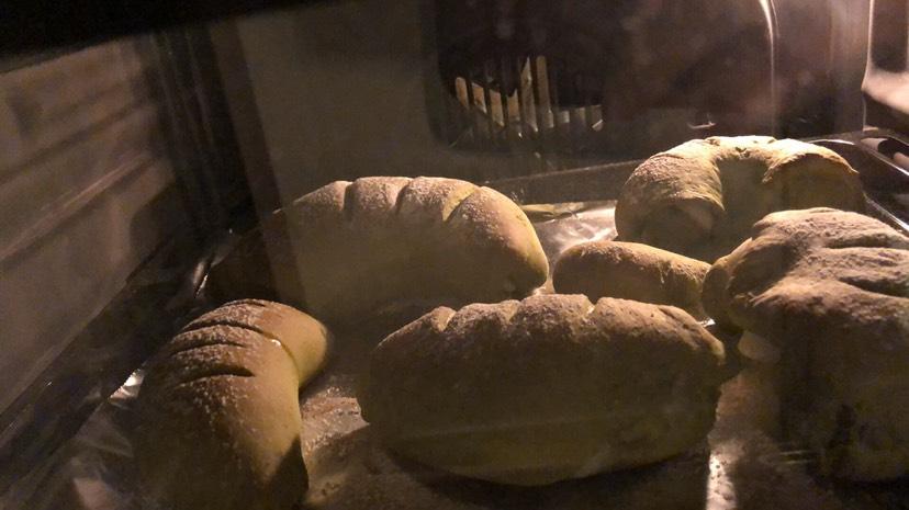 抹茶软欧麻薯蜜豆包🙆🏻♀️