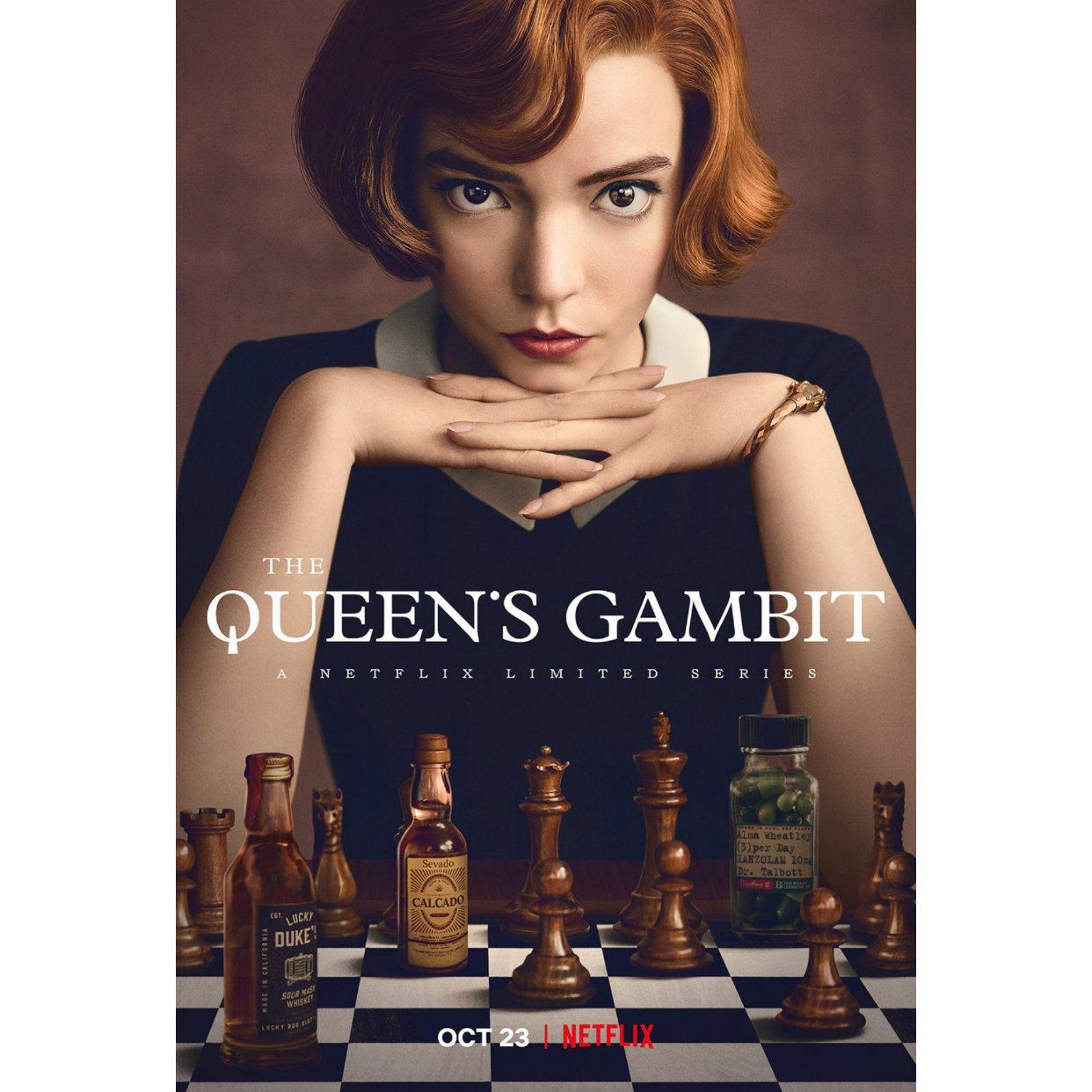 """看完新剧""""Queen's Gambit""""后的""""玩棋丧志"""""""