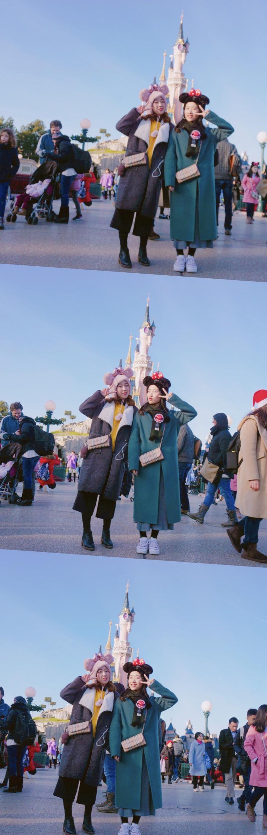 💕我们在迪士尼过圣诞
