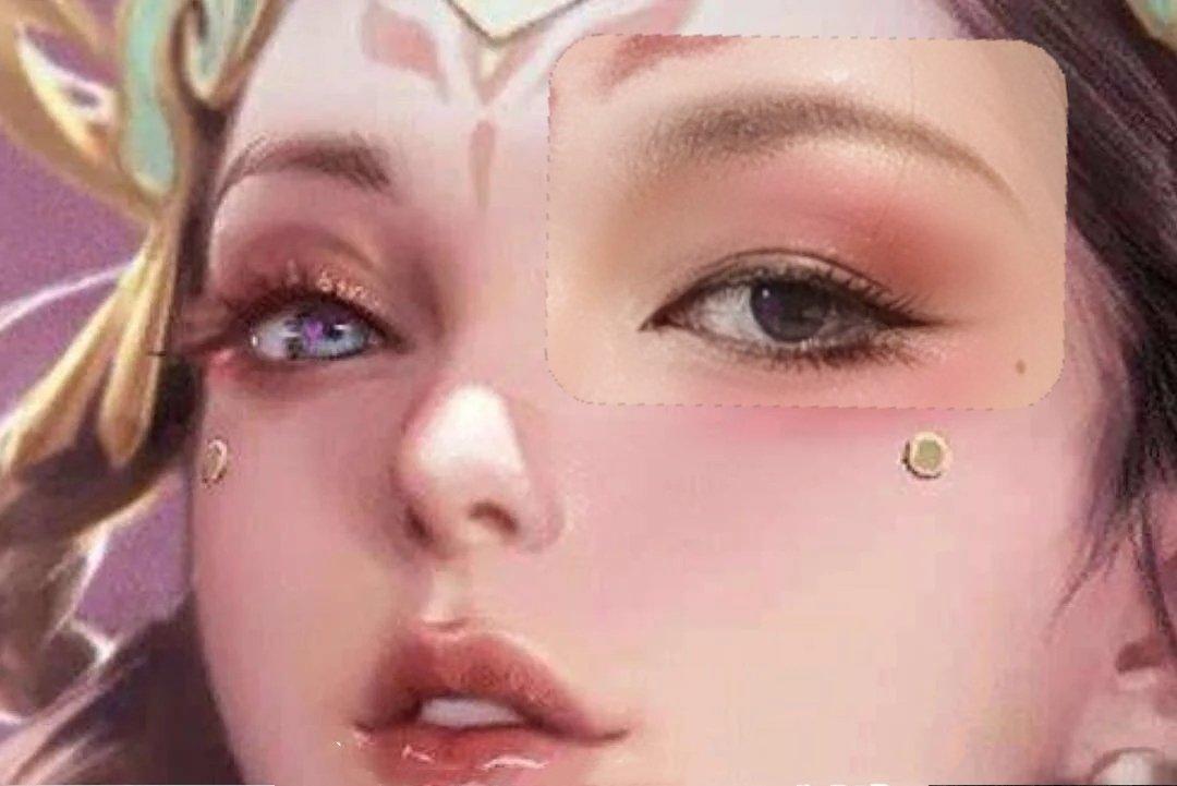 仿女神妆:王者荣耀最美的女人