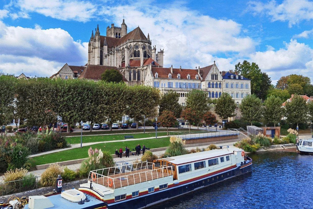 巴黎周边的小众超美旅游城市欧塞尔 Auxerre~