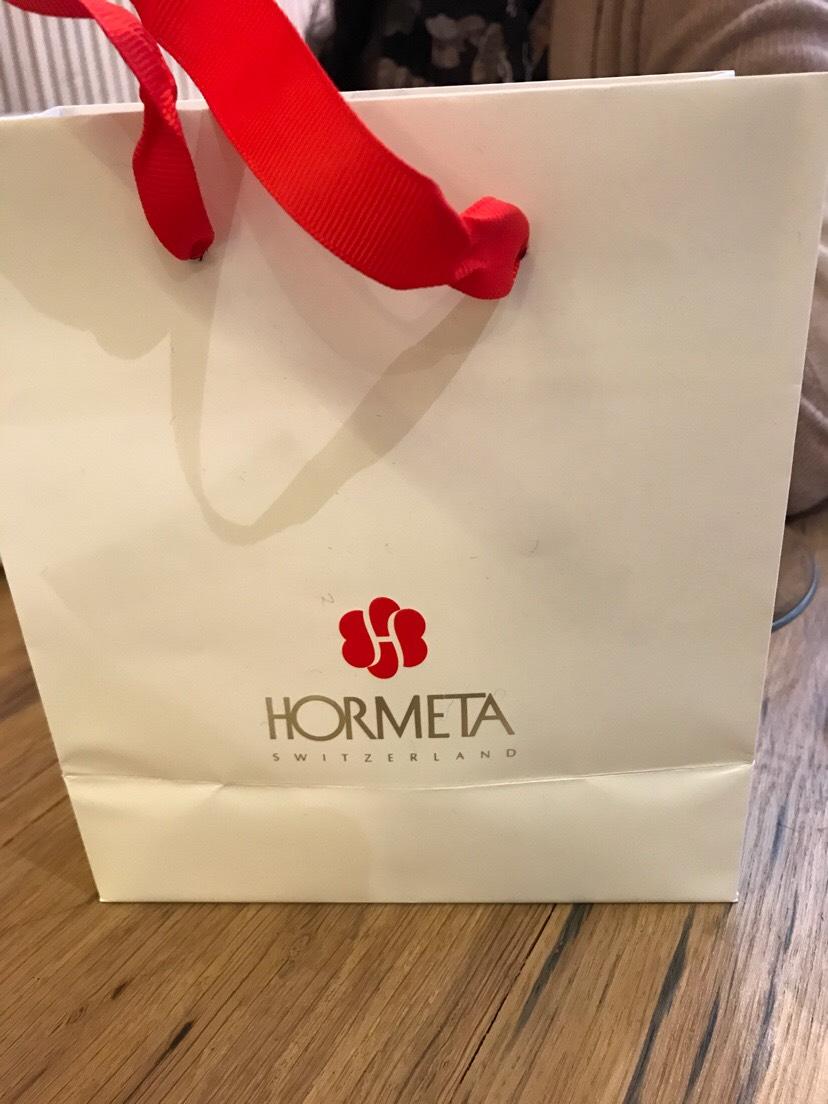 刚买的瑞士品牌hormeta黄金面膜