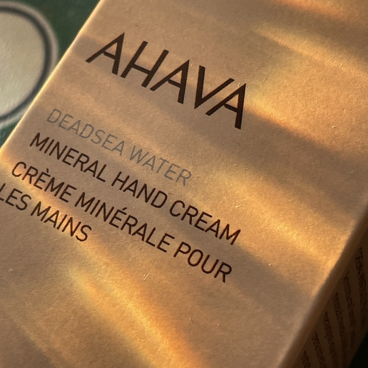 AHAVA护手霜