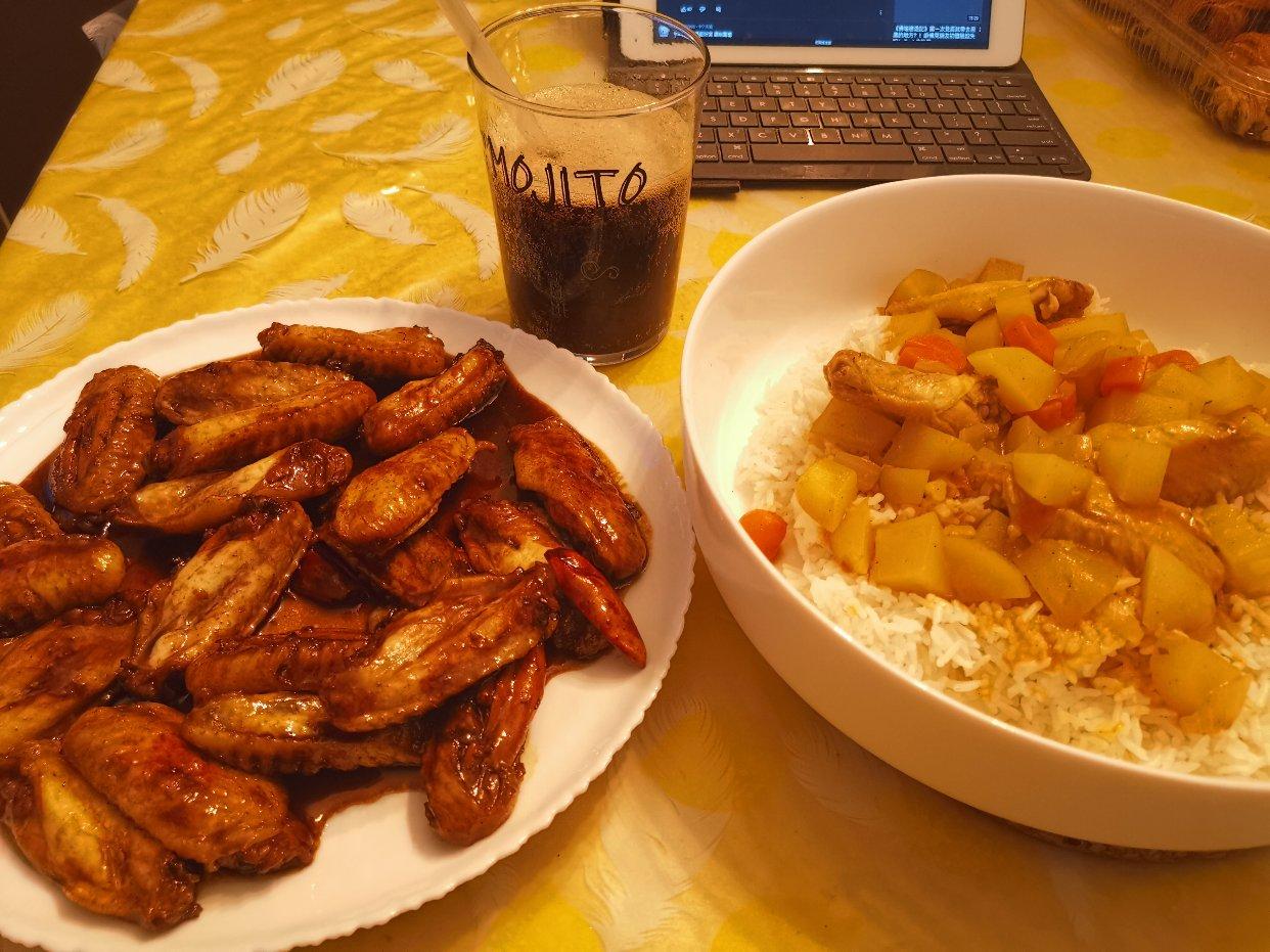 Chef我本人今天的鸡翅料理