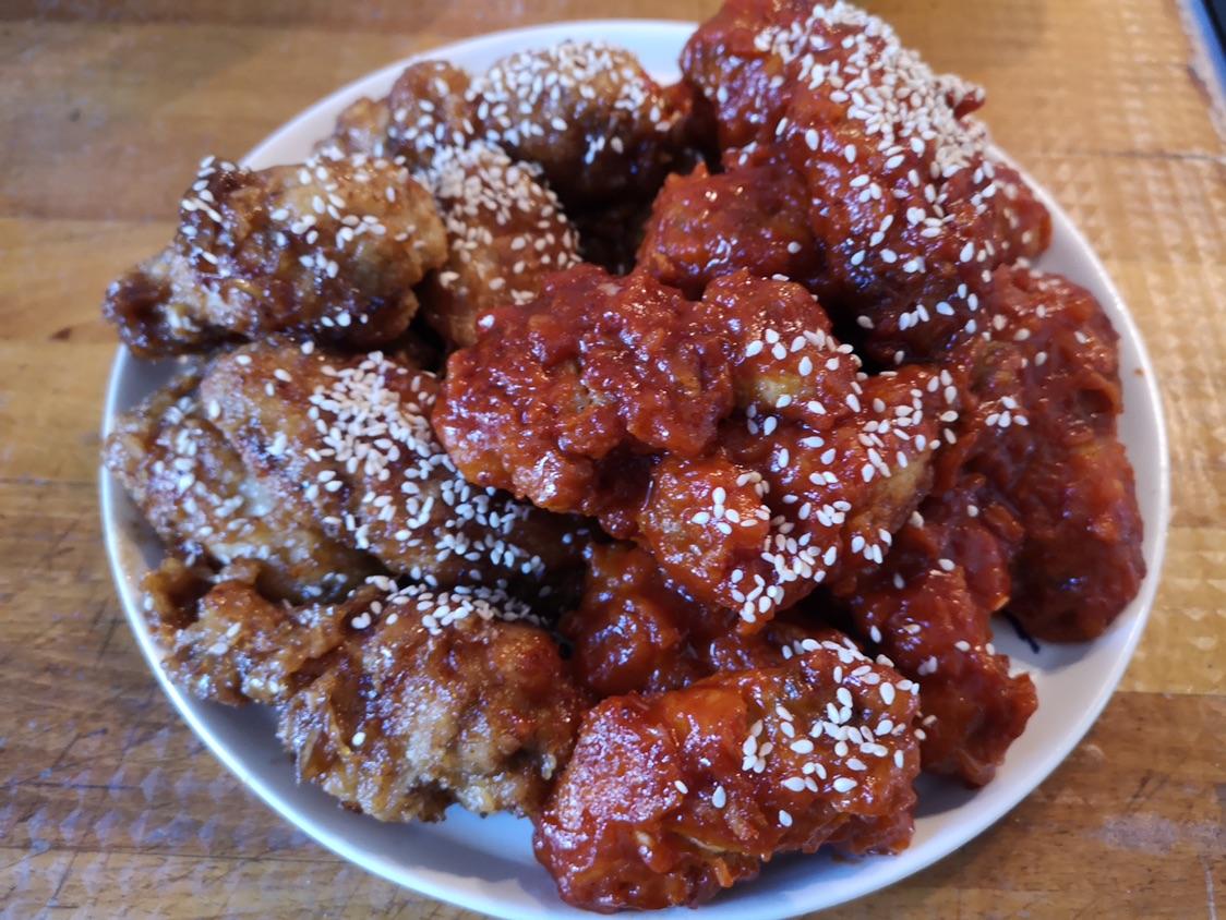 韩式两吃炸鸡