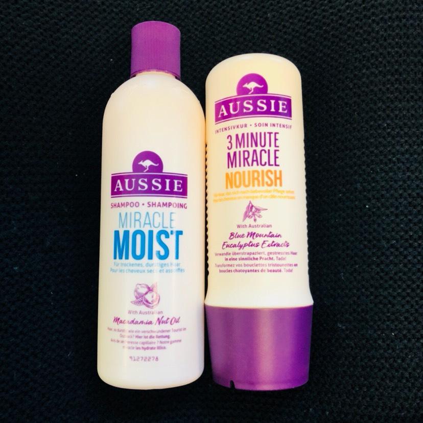 收到了一个月前VP买的袋鼠洗发水。