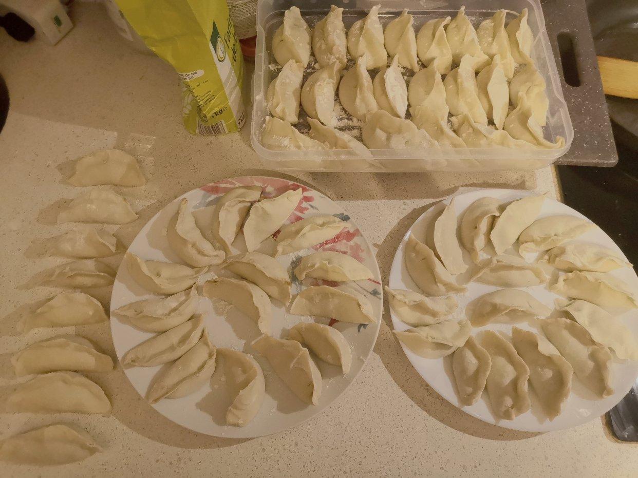 我炸完厨房了🥳冬至饺子