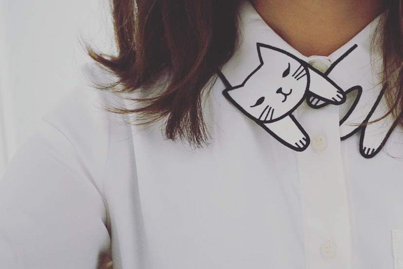 猫咪衬衣买家秀🐱