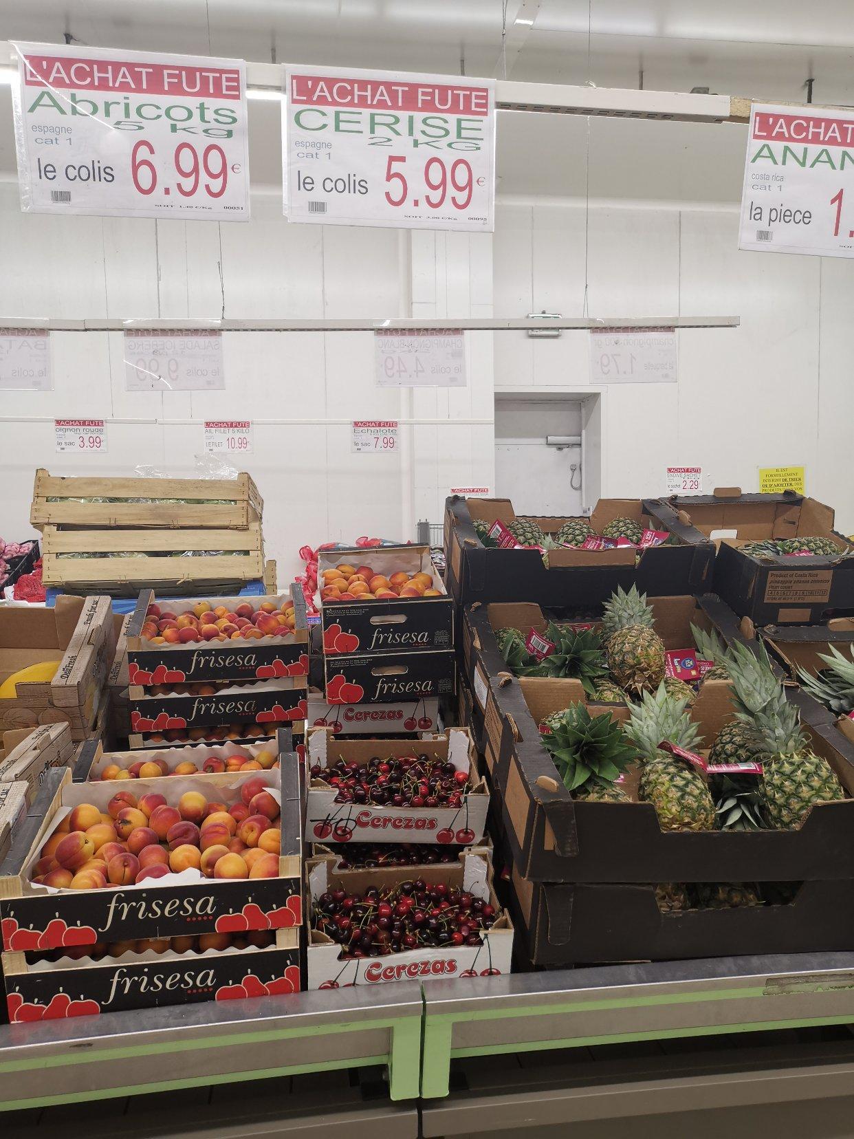 批发价菜市场,买了樱桃,番茄