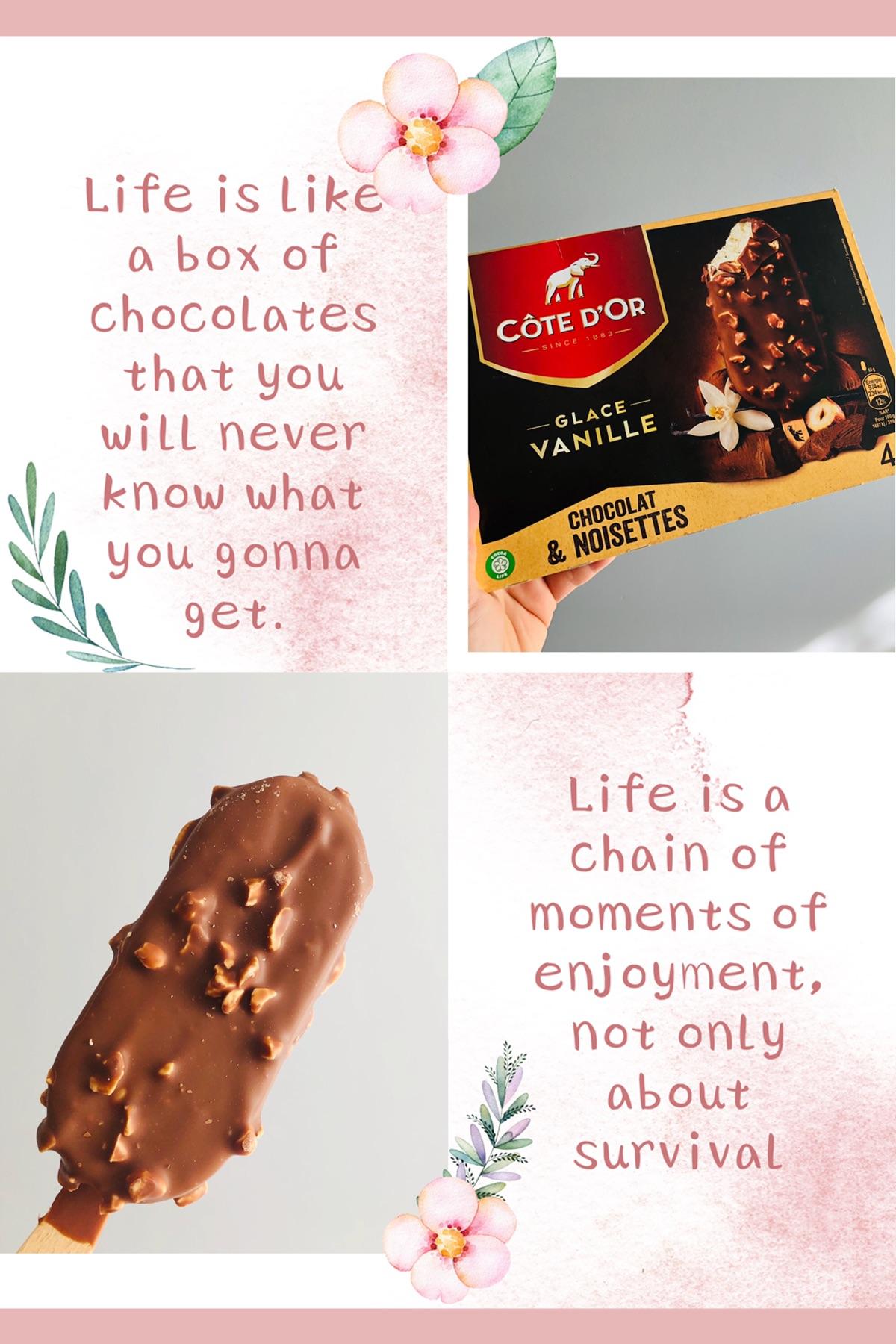 巧克力🍫纷纷下场做雪糕?