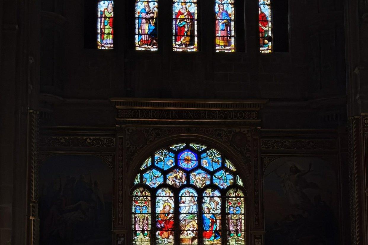 周日礼拜后的教堂