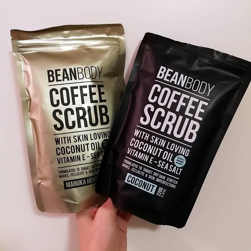 bean body咖啡身体磨砂