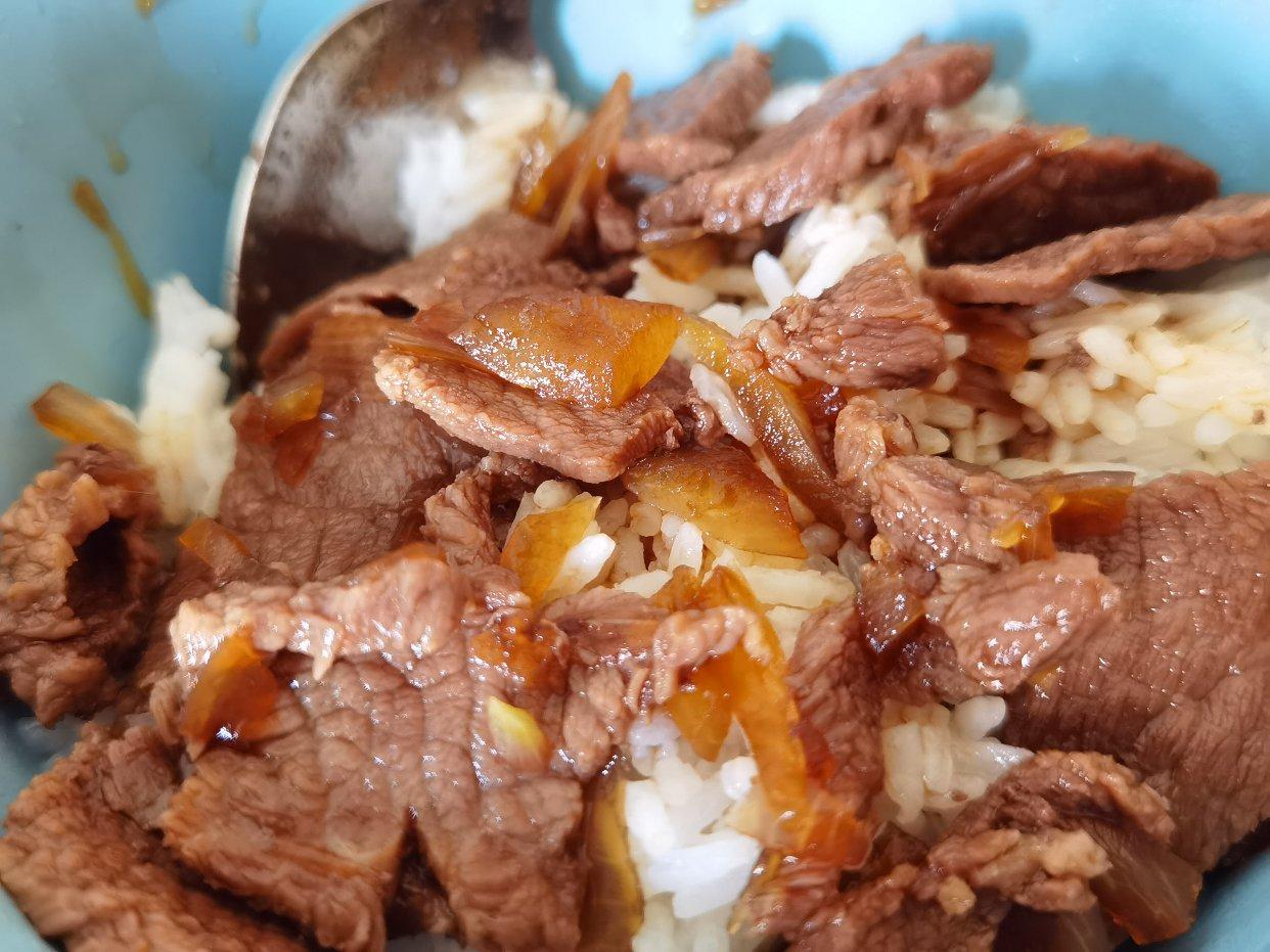 超级好吃的减脂牛肉饭菜谱分享!