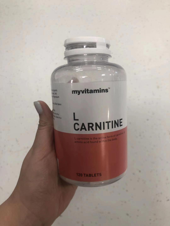myvitamins的左旋肉碱体验