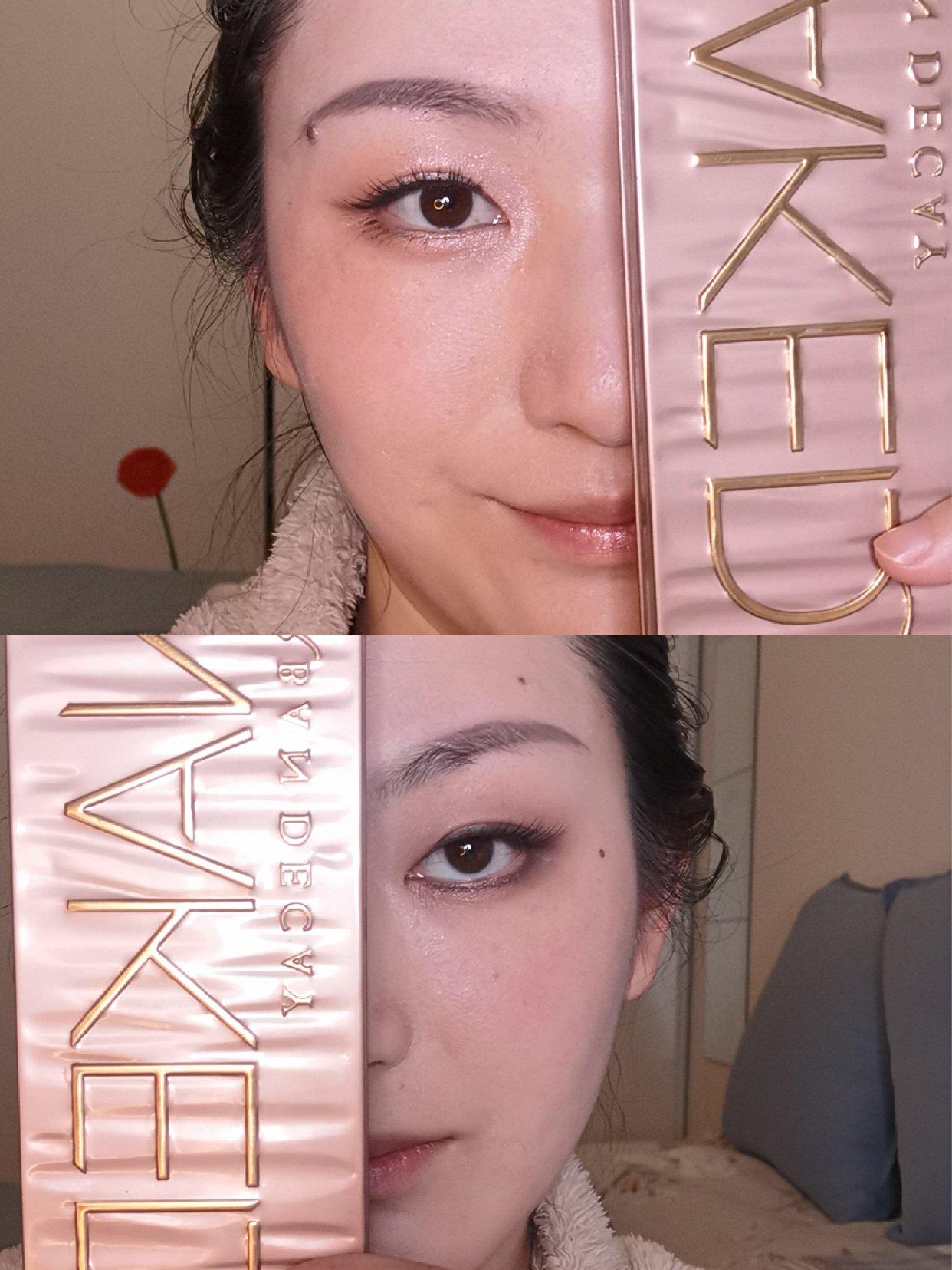 化妆:靠眼影,改人设