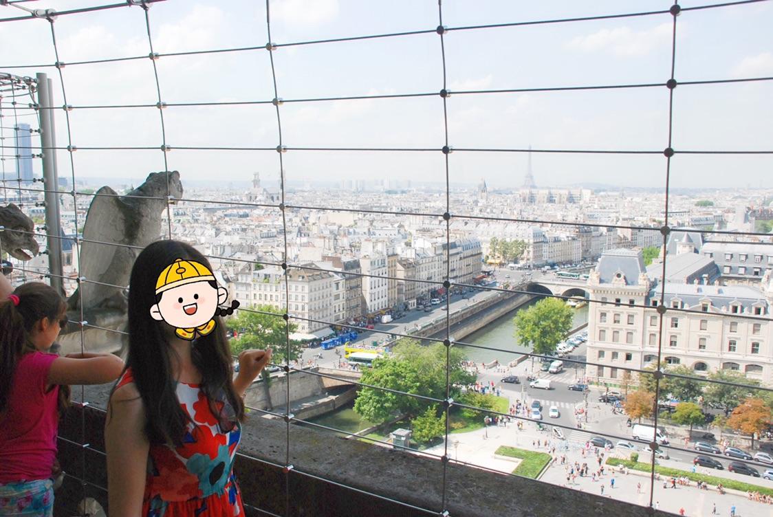 记忆中的巴黎圣母院