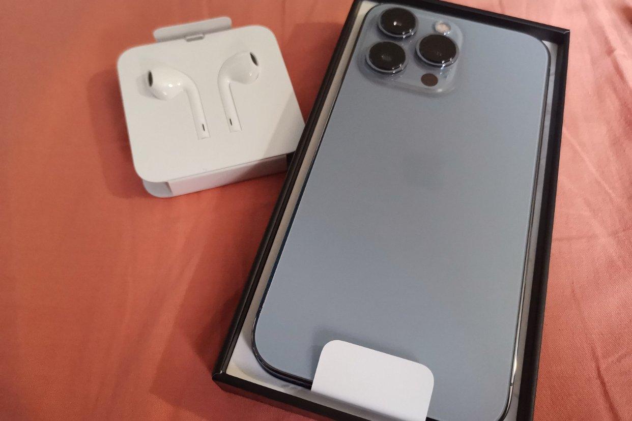 IPhone 13 pro开箱了,速度吧