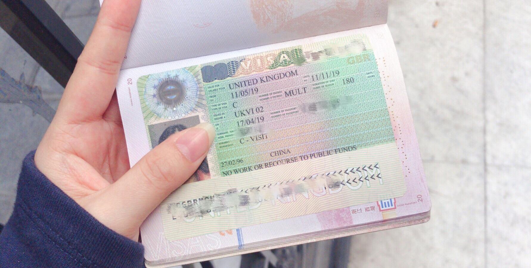英国签证🇬🇧get!哈利波特等我!