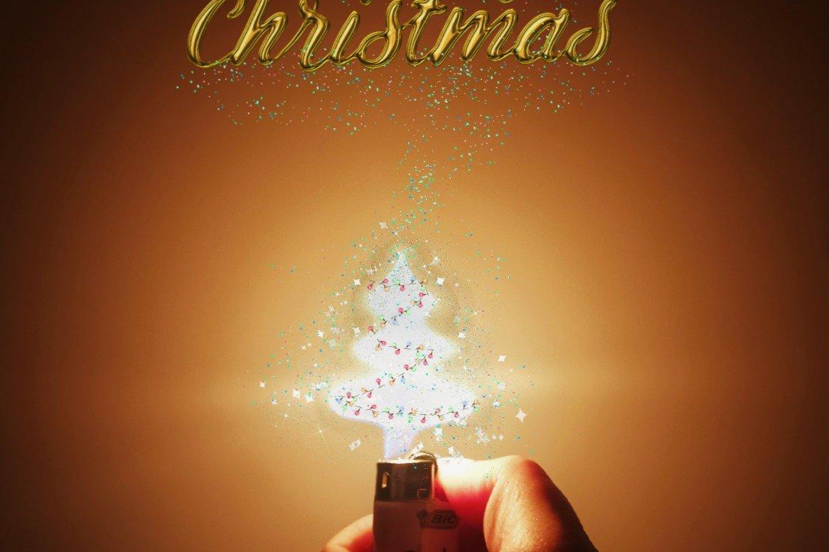 叮~ 你有份打火机里的圣诞礼物待收哦~