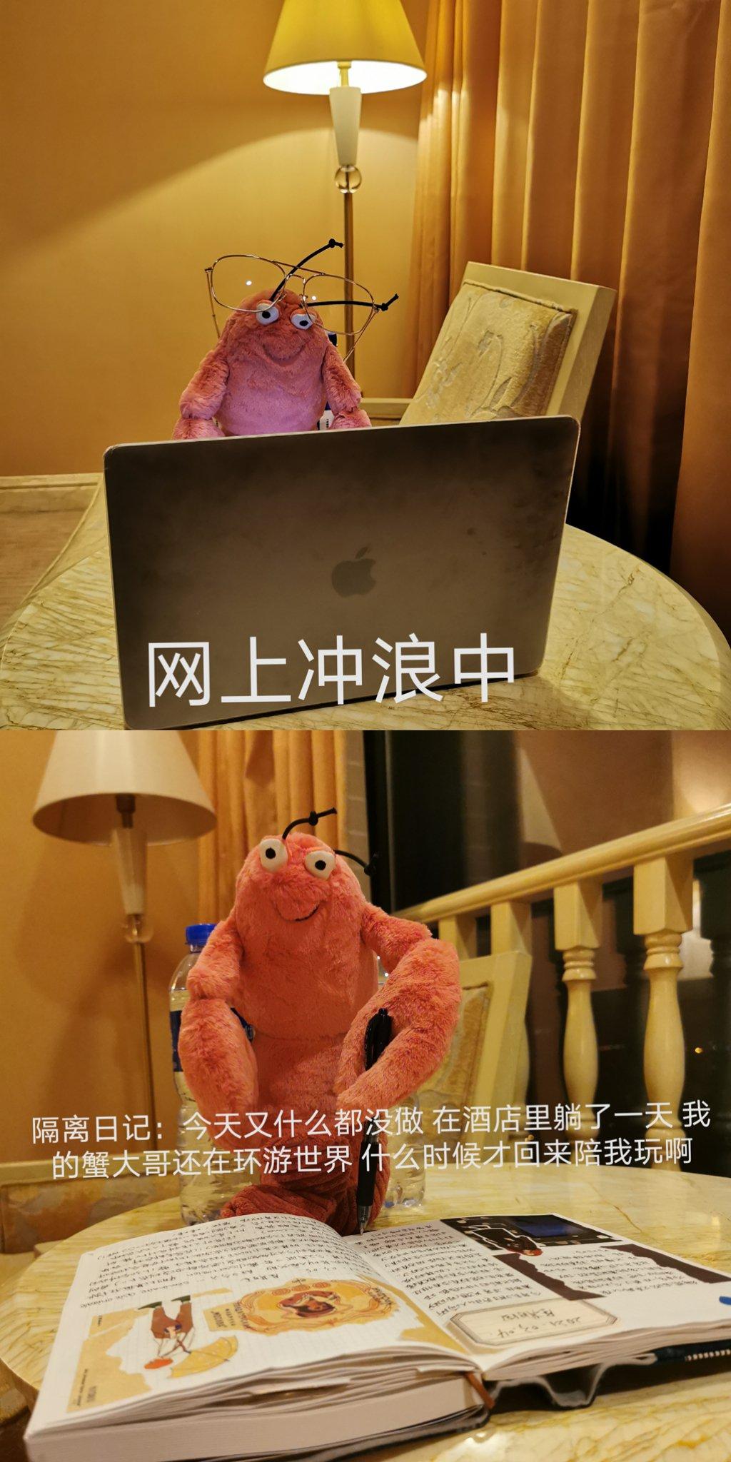 阿虾的隔离日记
