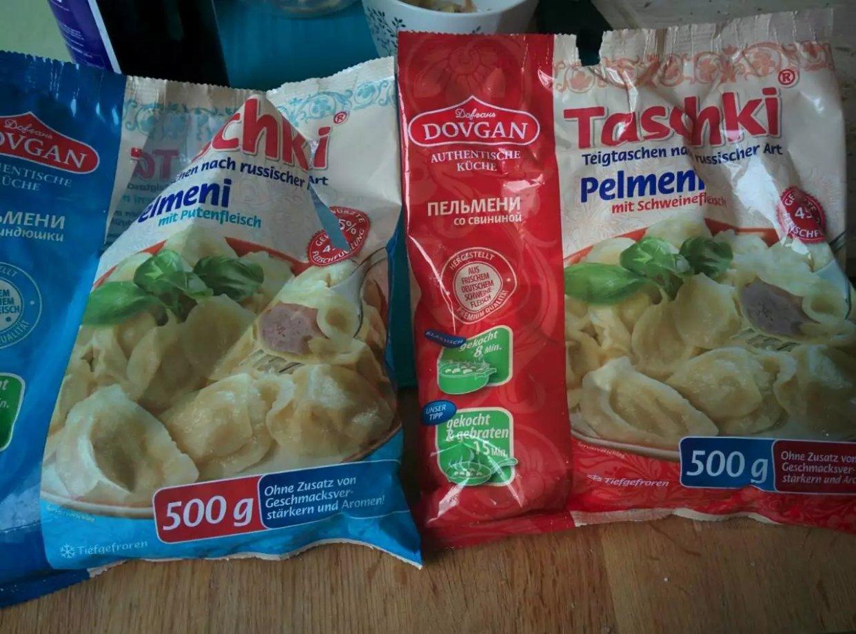 德国超市的饺子