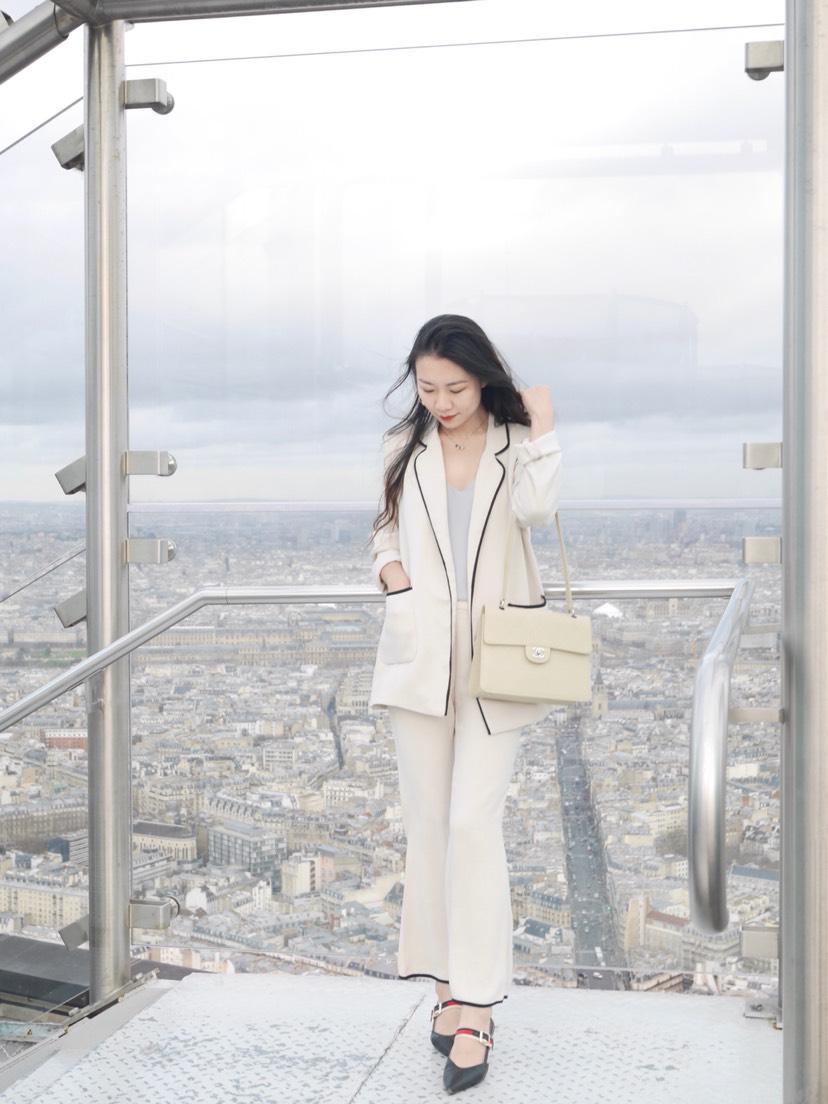 走,一起去巴黎最高餐厅看铁塔吧🗼附穿搭