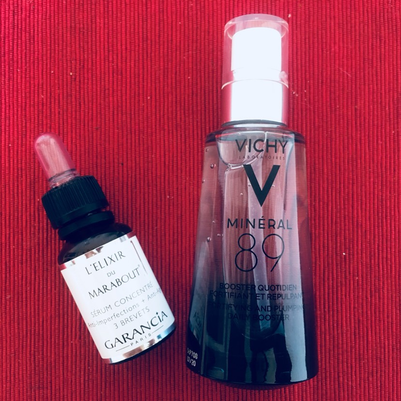 Vichy89和Garancia净肤精华