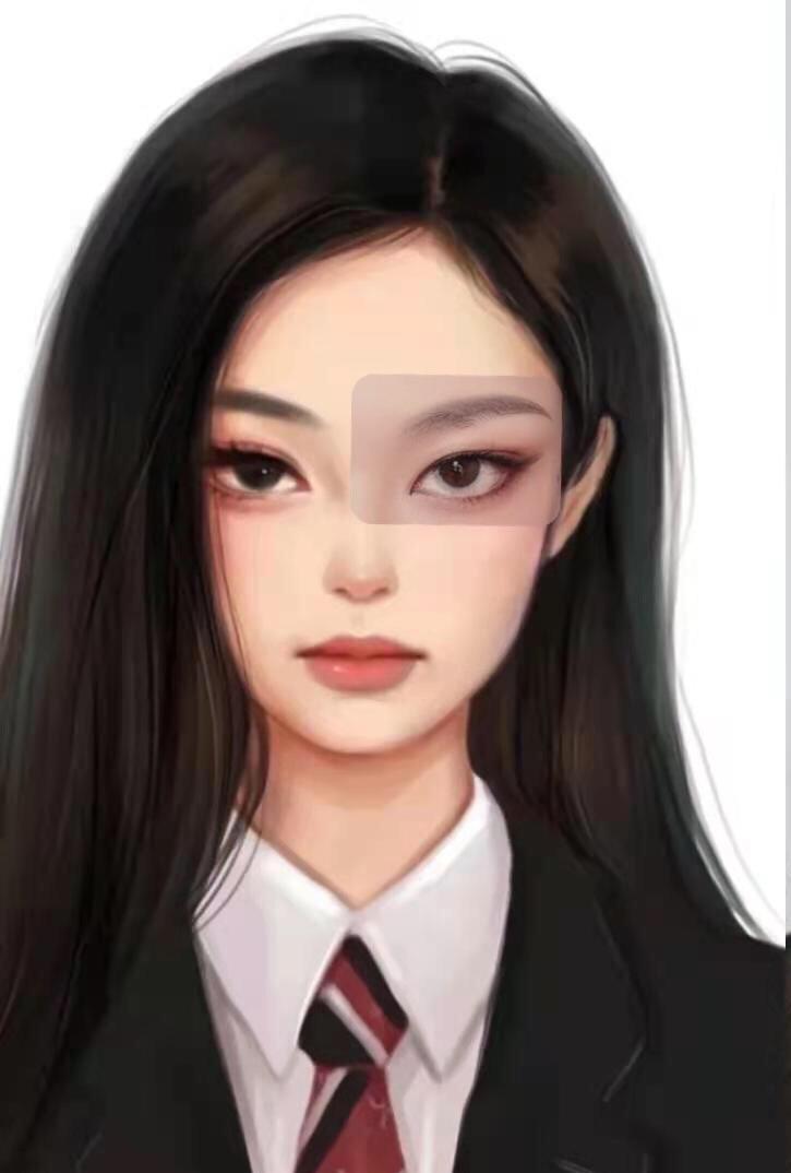 仿女神妆: 奶凶奶凶的Jennie