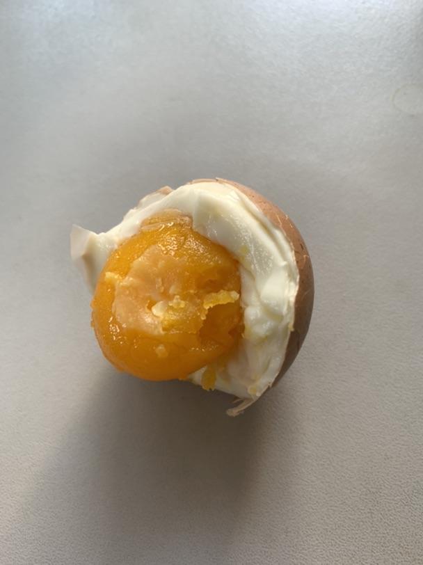 整一个月,来验收我的咸蛋黄成果