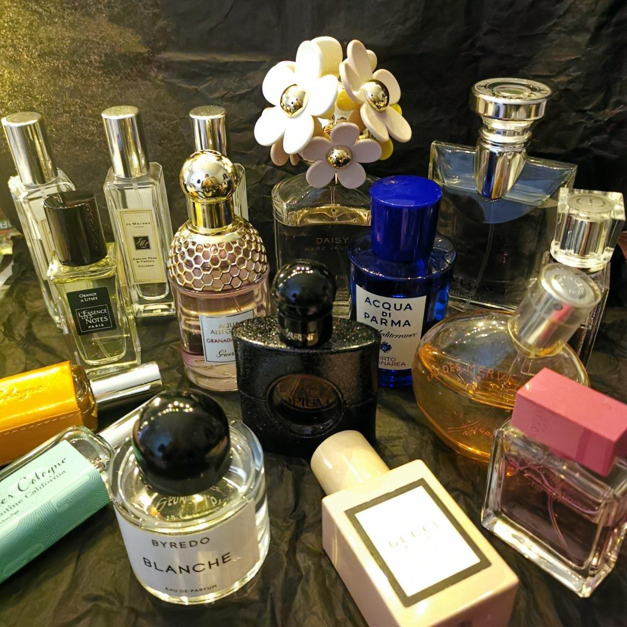 对香水毫无抵抗力,越闻越上瘾