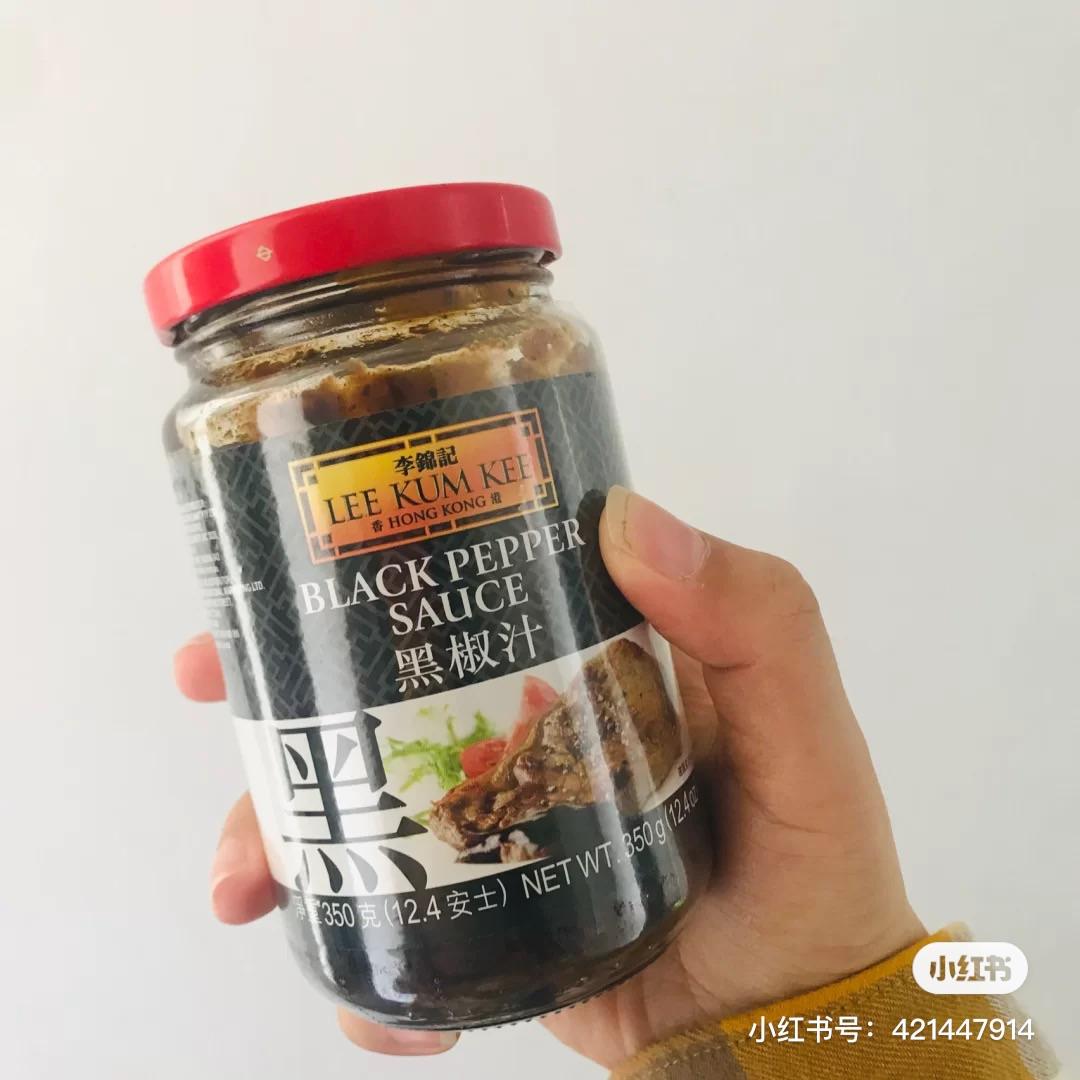 李锦记各式酱料