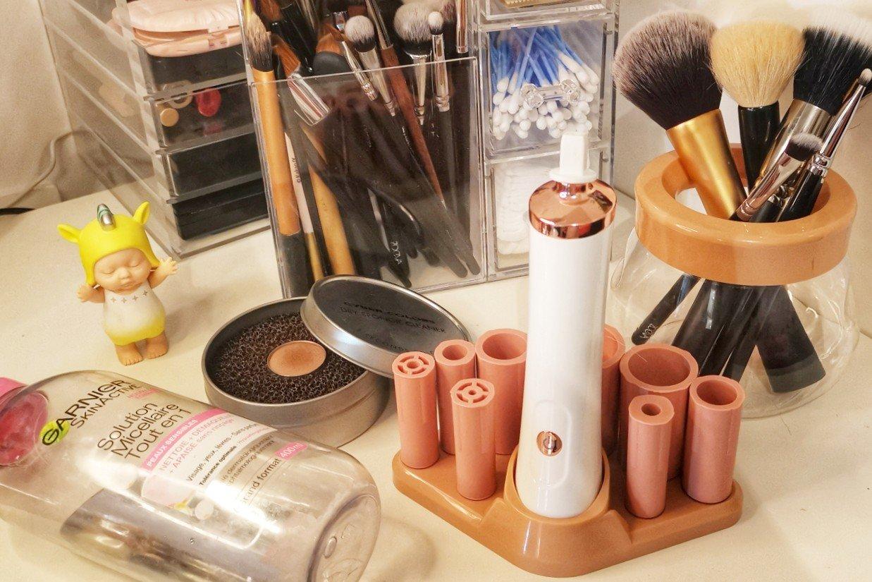 【开箱大分享~】是关于洗化妆刷不得不推荐的两件神器哦~