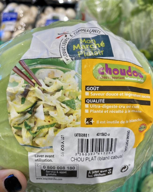 我终于在法国超市买到包菜了😭😭😭