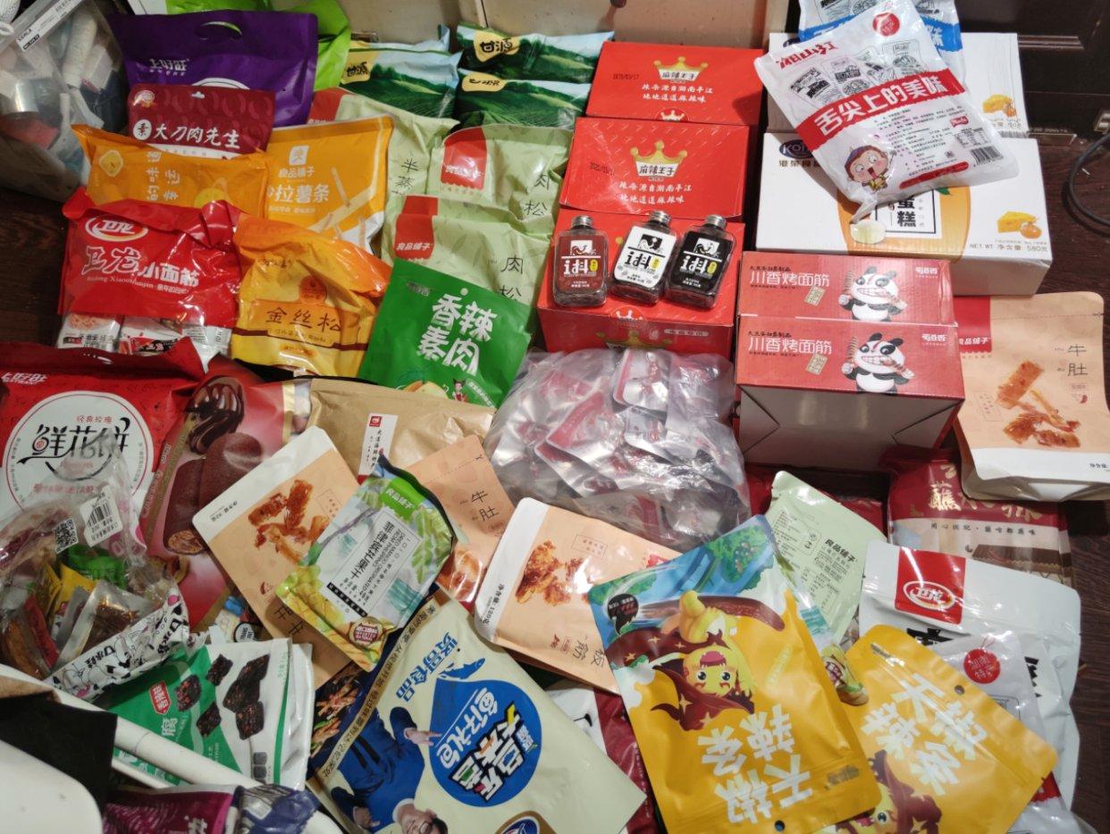 海运零食开箱! 一次性往家里添20kg零食是什么样的体验