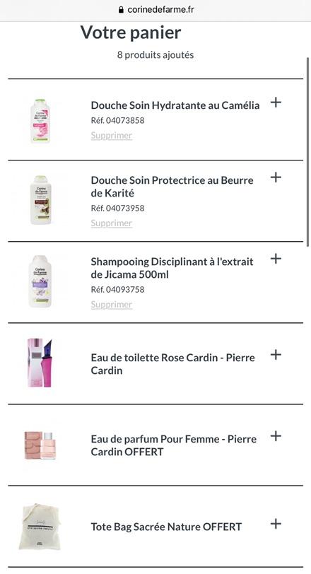🇫🇷买满9.9就送30欧的pierre cardin香水