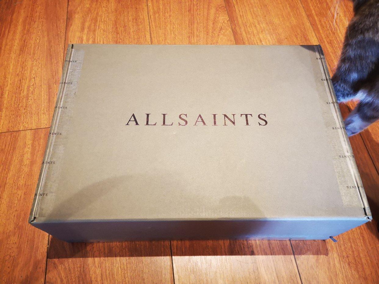 收到了期待已久的Allsaints小裙子