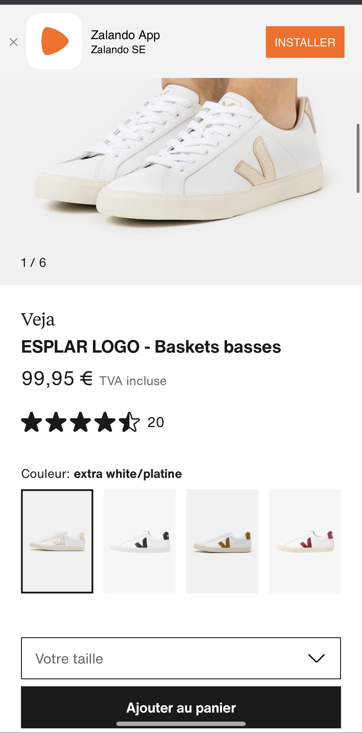 真心求问 veja的鞋子好穿吗