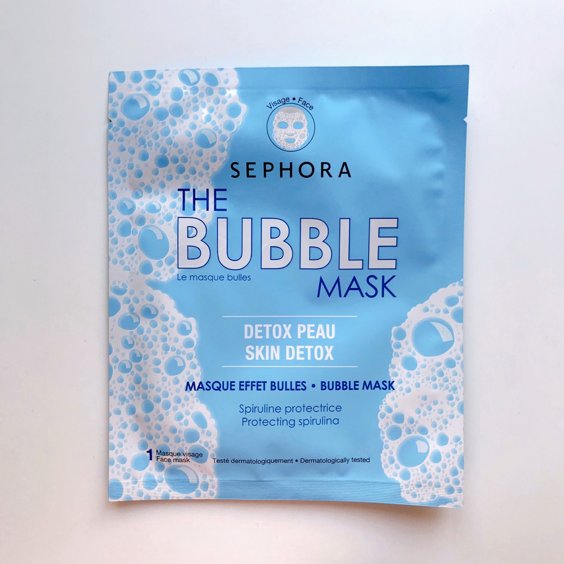 Sephora气泡面膜