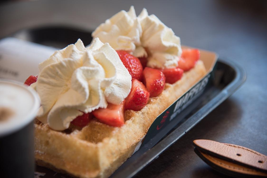 布鲁塞尔的华夫饼究竟有多好吃??比利时吃什么!?